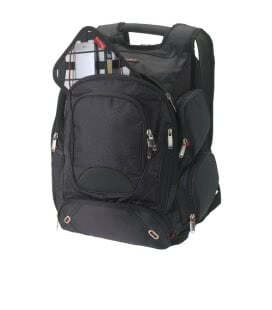 "Proton checkpoint-friendly 17"" computer backpackProton checkpoint-friendly 17"" computer backpack Elleven"